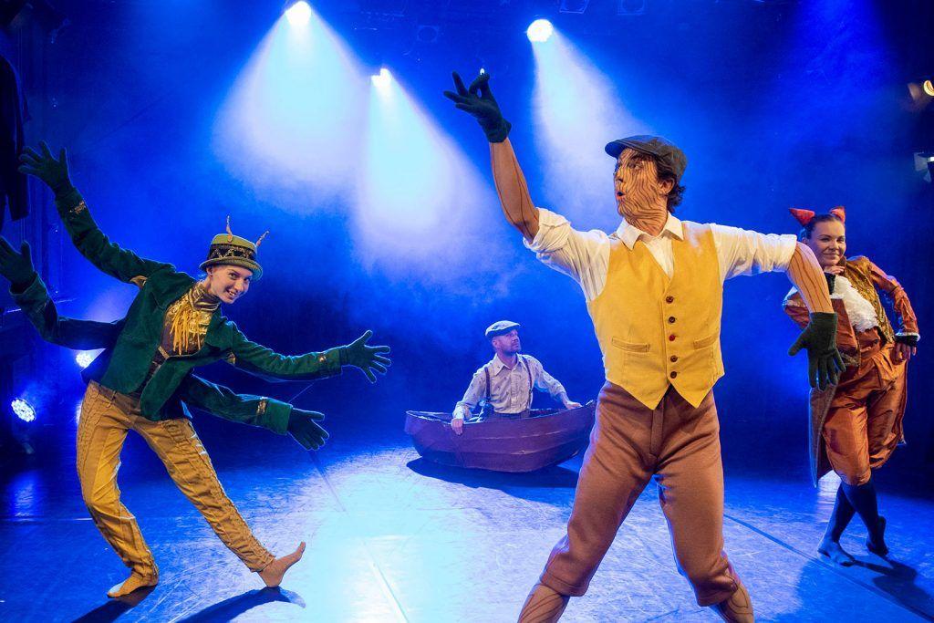 Pinokkio - Tanssiteatteri ERIPinokkio - Tanssiteatteri ERI